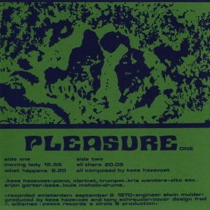 Kees Hazevoet / Pleasure (CD)