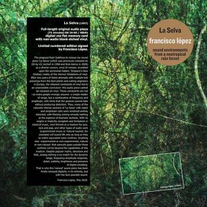 Francisco López / La Selva (LP+USB)