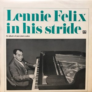 Lennie Felix / In His Stride (LP)