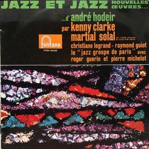 André Hodeir / Jazz Et Jazz (LP)