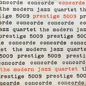 The Modern Jazz Quartet / Concorde (LP)