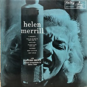 Helen Merrill / With Clifford Brown (LP)