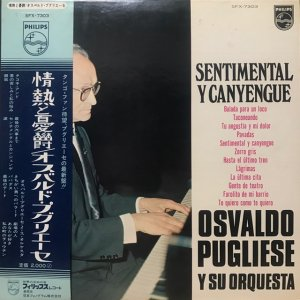 Osvald Pugliese / Sentimental Y Canyengue (LP)