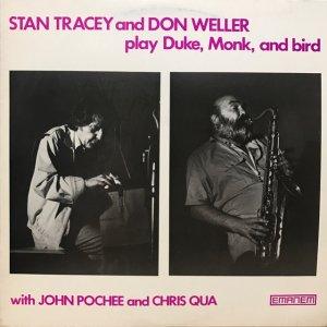 Stan Tracey, Don Weller / Play Duke, Monk & Bird (LP)