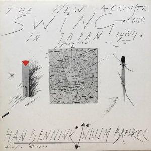 Han Bennink, Willem Breuker / The New Acoustic Swing Duo In Japan 1984 (LP)