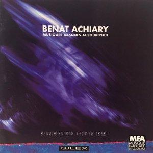 Benat Achiary / Musiques Basques Aujourd'hui (CD)