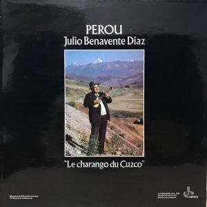 Julio Benavente Diaz / Perou : Le Charango Du Cuzco (LP)