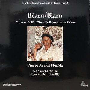 Pierre Arrius Mesplé / Béarn - Biarn (LP)