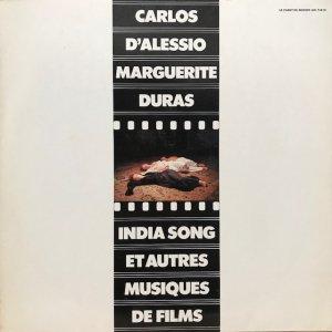 Carlos D'Alessio / India Song Et Autres Musiques De Films (LP)