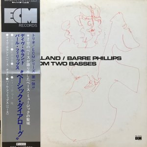 Dave Holland, Barre Phillips / Music From Two Basses (LP)