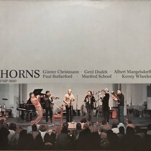 Günter Christmann, etc.  / Horns (LP)