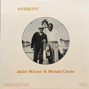Jackie McLean & Michael Carvin / Antiquity (LP)