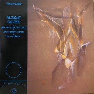 Giacinto Scelsi / Musique Sacrée (LP)