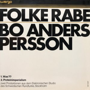 Folke Rabe / Was?? (LP)
