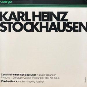 Karlheinz Stockhausen / Zyklus Für Einen Schlagzeuger (LP)