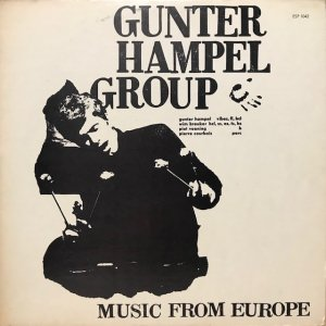 Gunter Hampel / Music From Europe (LP)