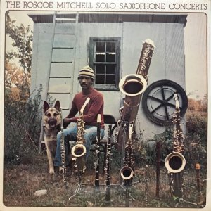 Roscoe Mitchell / Solo Saxophone Concerts (LP)