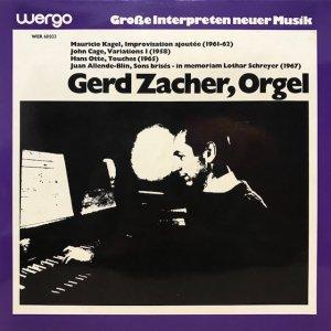 Gerd Zacher / Orgel (LP)