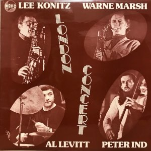 Lee Konitz / London Concert (LP)