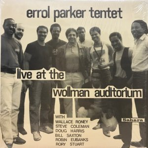 Errol Parker Tentet / Live At The Wollman Auditorium (LP)