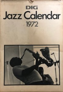 DIG Jazz Calendar 1972