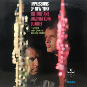 The Rolf And Joachim Kuhn Quartet / Impressions Of New York (LP)