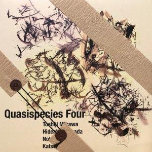 Toshiji Mikawa, Hideaki Shimada, Nobuo Yamada, Katsuyoshi Kou / Quasispecies Four (LP)