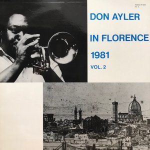Don Ayler / In Florence 1981 Vol.2 (LP)