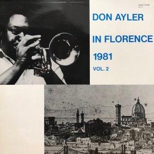 Don Ayler / In Florence 1981 Vol.2 (LP)