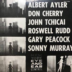 Albert Ayler / New York Eye And Ear Control (LP)