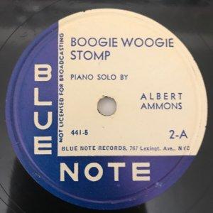 Albert Ammons / Boogie Woogie Stomp (SP)