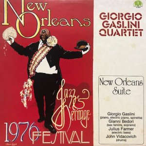 Giorgio Gaslini Quartet / New Orleans Suite (LP)