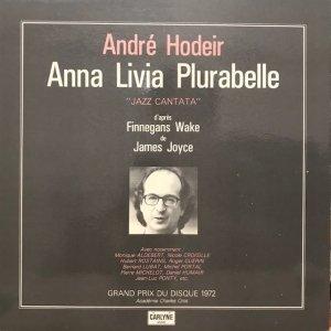 Andre Hodeir / Anna Livia Plurabelle (LP)