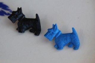 Acorn & Will 【スコッティーテリア 犬】ブローチ