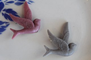 Acorn & Will 【鳥】ブローチ