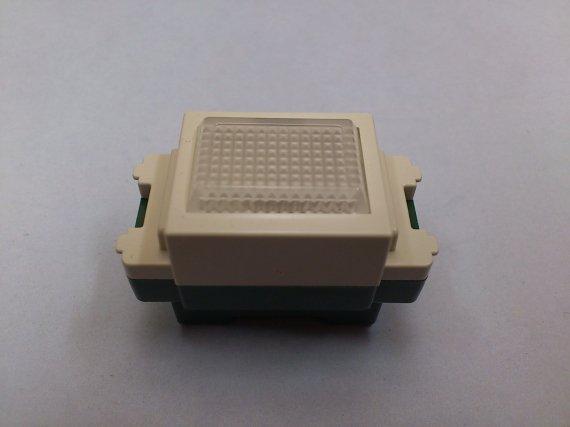 埋込連用パイロットランプ(白)100V用
