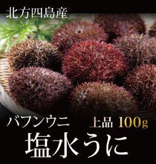 北方四島産 塩水ウニ<バフンウニ> 100g