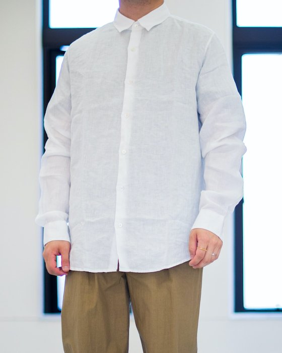 <img class='new_mark_img1' src='https://img.shop-pro.jp/img/new/icons5.gif' style='border:none;display:inline;margin:0px;padding:0px;width:auto;' />Air Clean Linen Shirt