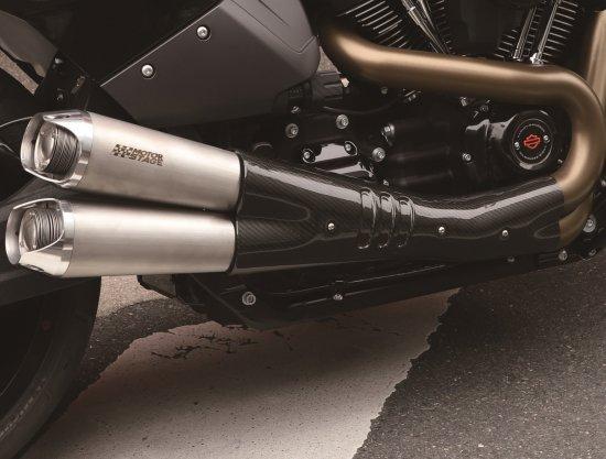 FXDR 114 2019~ 専用  スリップオンマフラー V-SPEED/ステンレスヘアライン