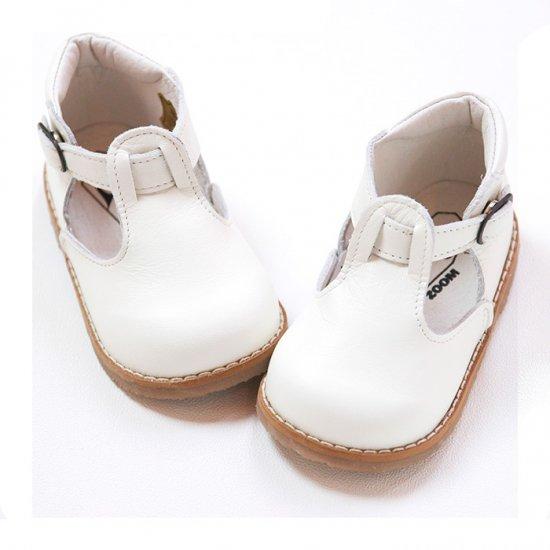PEEP ZOOM - T-Strap Shoes(white)