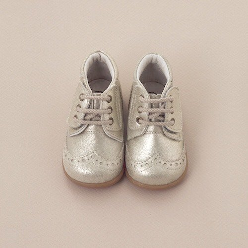 <img class='new_mark_img1' src='https://img.shop-pro.jp/img/new/icons56.gif' style='border:none;display:inline;margin:0px;padding:0px;width:auto;' />PEEP ZOOM - Wing tip Shoes (Silver)