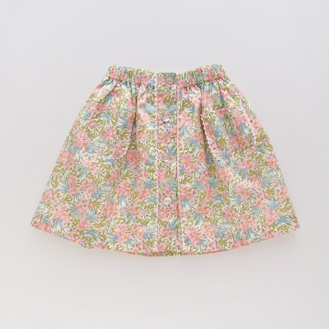 <img class='new_mark_img1' src='https://img.shop-pro.jp/img/new/icons14.gif' style='border:none;display:inline;margin:0px;padding:0px;width:auto;' />Amaia Kids - Juliette skirt (Liberty pink)