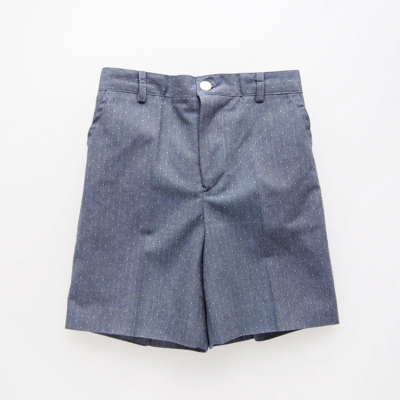 <img class='new_mark_img1' src='https://img.shop-pro.jp/img/new/icons14.gif' style='border:none;display:inline;margin:0px;padding:0px;width:auto;' />Amaia Kids - Gull short (Dots denim)