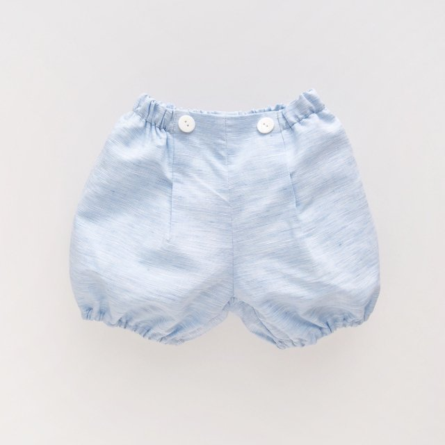 <img class='new_mark_img1' src='https://img.shop-pro.jp/img/new/icons14.gif' style='border:none;display:inline;margin:0px;padding:0px;width:auto;' />Amaia Kids - Magpie bloomer (Blue chambray)