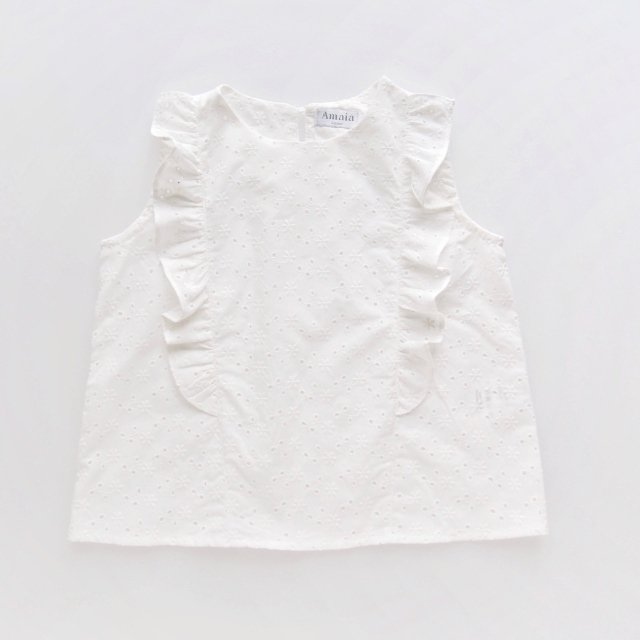 <img class='new_mark_img1' src='https://img.shop-pro.jp/img/new/icons14.gif' style='border:none;display:inline;margin:0px;padding:0px;width:auto;' />Amaia Kids - Alice blouse (Cotton lace)