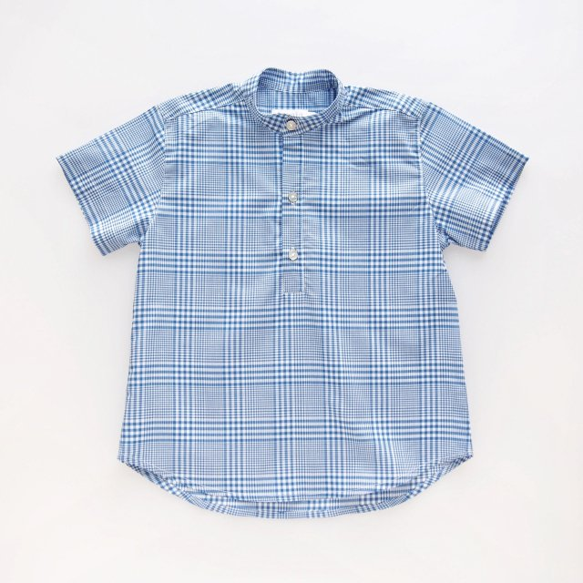 <img class='new_mark_img1' src='https://img.shop-pro.jp/img/new/icons14.gif' style='border:none;display:inline;margin:0px;padding:0px;width:auto;' />Amaia Kids - Preprine shirts (Blue check/ Green check)