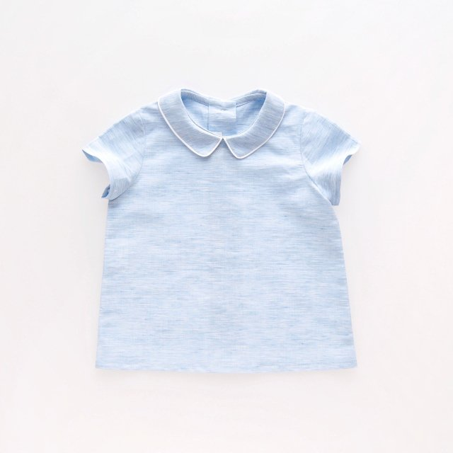 <img class='new_mark_img1' src='https://img.shop-pro.jp/img/new/icons14.gif' style='border:none;display:inline;margin:0px;padding:0px;width:auto;' />Amaia Kids - Mallard shirts (Blue chambray)