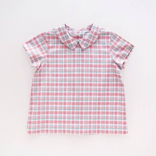 <img class='new_mark_img1' src='https://img.shop-pro.jp/img/new/icons14.gif' style='border:none;display:inline;margin:0px;padding:0px;width:auto;' />Amaia Kids - Mallard shirts (Madras check)