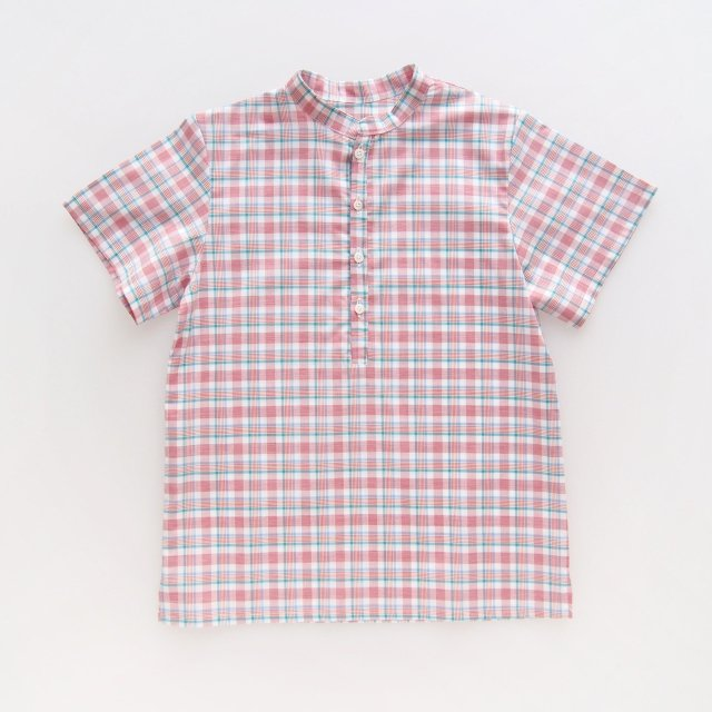 <img class='new_mark_img1' src='https://img.shop-pro.jp/img/new/icons14.gif' style='border:none;display:inline;margin:0px;padding:0px;width:auto;' />Amaia Kids - Pereprine shirts (Madras check)