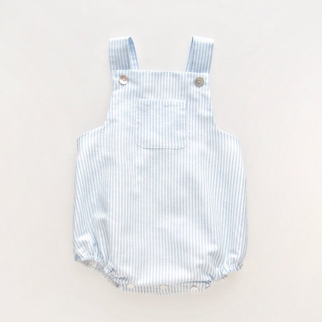 <img class='new_mark_img1' src='https://img.shop-pro.jp/img/new/icons14.gif' style='border:none;display:inline;margin:0px;padding:0px;width:auto;' />Amaia Kids - Archie romper (Blue stripe)